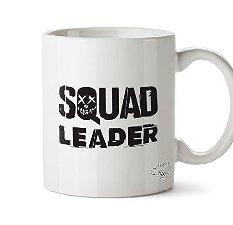 Hippowarehouse Squad Fonde 283,5gram Mug Cup, Céramique, blanc, One Size (10oz)