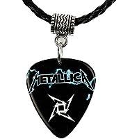 Metallica Logo Guitar Pick Plectrum Necklace