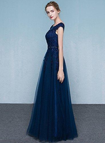 Azbro -  Vestito  - relaxed - Senza maniche  - Donna Deep Blue