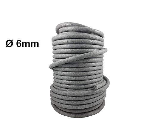 Preisvergleich Produktbild PE Rundschnur Fugenschnur Hinterfüllschnur Rundprofil 6mm x 100m