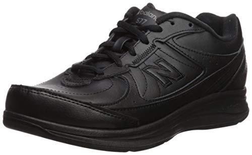 New Balance - - Damen-Walking-Schuhe 577 Dämpfung, 39 W EU, Black (BK)