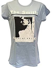 Blue Bagal Ladies The Smiths 'Hatful of Hollow' T Shirt