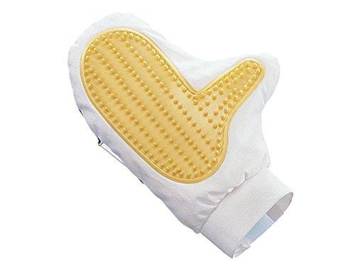 Artikelbild: Nobby 72641 Pflegehandschuh Gummi- und Vliesseite