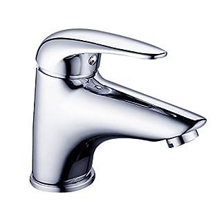 41tstb TztL. SS324  - DP Grifería SMA-0001 Grifo de lavabo, color plateado,