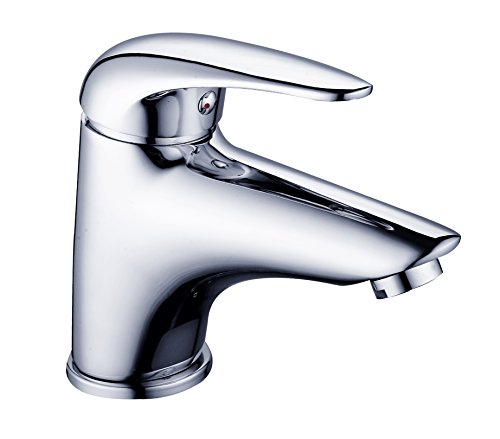 DP Grifería Cerezo – Grifo de lavabo, color plateado