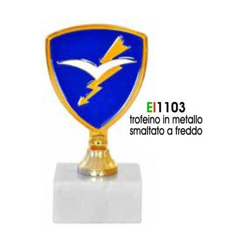 GIEMME articles promotionnels-Trophée métal parachutistes folgore armée italien produit officiel nouveau