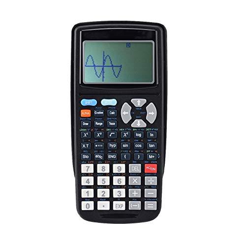 Taschenrechner Untersuchungsplotter Grafischer Programmierrechner FüR Wissenschaftliche Funktionen 10 + 2-Stellige Anzeige HochauflöSendes Lcd-Display Studentenfinanzfunktion (10pcsTaschenrechner)