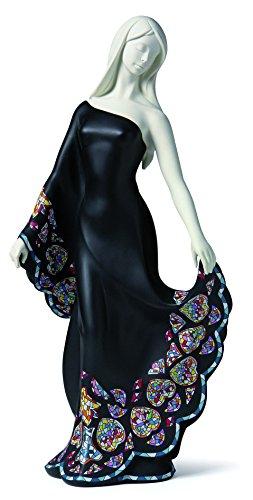 Nadal Grande Figura Decorativa Elegancia, Resina, 17.00x21.80x51.50 cm
