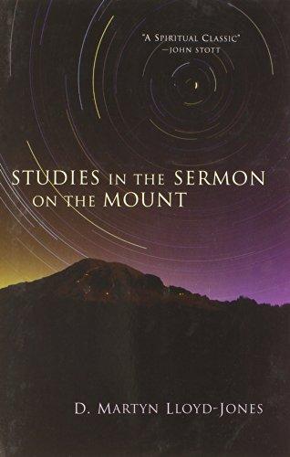 Studies in the Sermon on the Mount por Martyn Lloyd-Jones