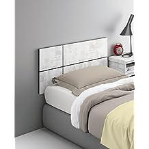 cabezal o cabecero para cama individual de o de melamina x cm
