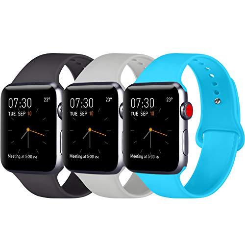 dd32de60ea6 ATUP Correa Compatible con para Apple Watch Correa 42mm 44mm