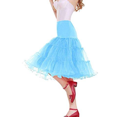 Super Modern -  Vestito  - linea ad a - Donna Skyblue