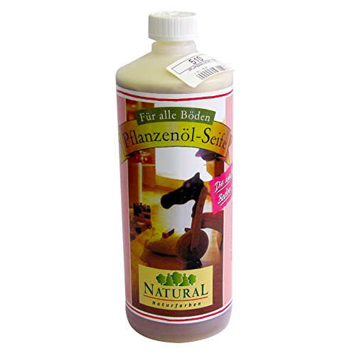 Pflanzenöl-seife (Natural Pflanzenöl-Seife Holzbodenseife 1 Liter)