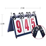 DRAGON SONIC Sporting Goods Portable Table Top Scoreboard Scoreboards 3-DigitA5