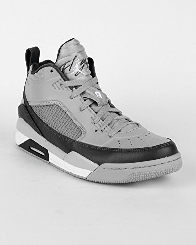 Nike Jordan Men's Jordan Flight 9.5 Wolf Grey/White/Dark Grey Basketball Shoe 13 Men US