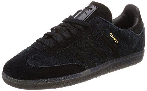 Adidas Samba OG, Zapatillas de Deporte para Niños, Negro Negbás/Carbon 000, 36 EU