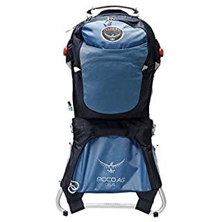 Osprey Unisex's Poco AG Plus Child Carrier Pack, Seaside Blue, One Size