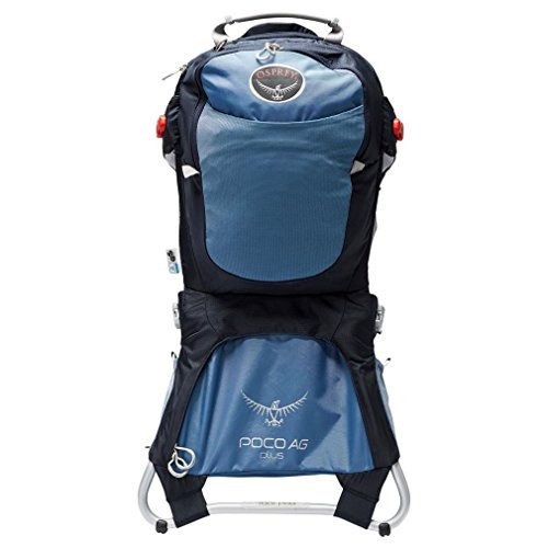 Osprey Poco AG Plus Child Carrier Pack, Seaside Blue, One sie