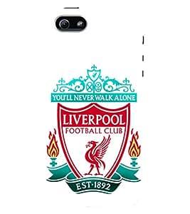 D KAUR Liverpool Football Club Back Case Cover for Apple I Phone 5S::Apple I Phone 5S