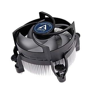 ARCTIC Alpine 12 CO - CPU kühler für Intel Sockeln für Dauerbetrieb, durch 92 mm PWM Lüfter bis zu 100 Watt Kühlleistung - Mit voraufgetragener MX-2 Wärmeleitpaste - Einfachen Montagesystems