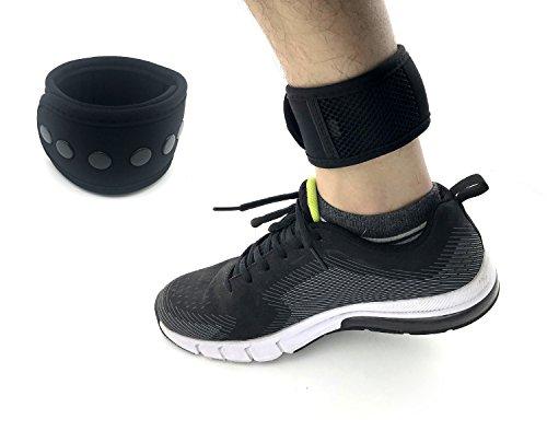 CAREOR Verstellbarer Arm & Knöchel Running Band Armband Band mit Schnalle und Mesh Tasche für Garmin & Fitbit One/Fitbit Flex 2/Fitbit Alta/Alta HR Fitness Tracker Armband -