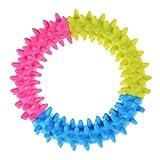 RUNFON giocattolo Dent Cucciolo giocattolo vista. anelli dentizione Cane in forma giocattolo da masticare per l' entrâinement e pulizia dei Di NTS per cucciolo gatto animali da compagnia