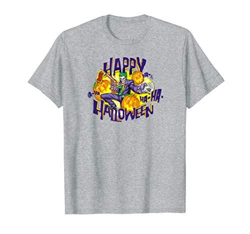 Batman the Joker Ha Ha Halloween T Shirt