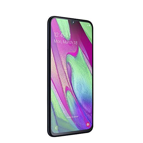 "Samsung Galaxy A40 (2019) Smartphone, Nero, Display 5,9"" 64 GB Espandibili, Dual Sim [Versione Italiana]"