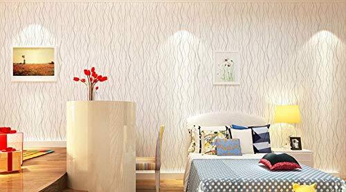 Yirenfeng Europäische Wasserdichte Tapete Prägnante Und Frische Tapete Wohnheim Dekoration Wallpaper, D