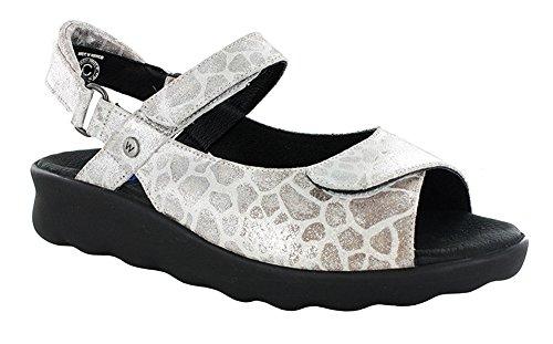 Laccio Wolky scarpe, 6286 squallido Stroll 157 rot Nubukleder