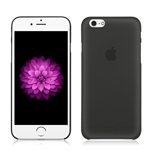"""Coque Bumper Cover iPhone 6 / 6s ( 4,7 pouces ) 4.7"""" - fin mat ultra mince et ultra leger THEcoque DESIGN case - Rouge NOIR"""