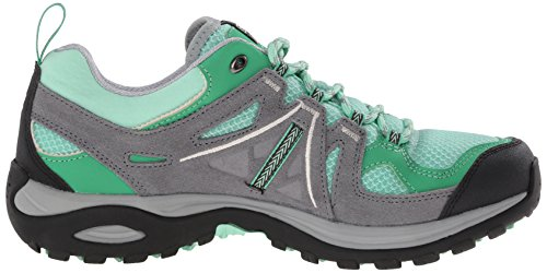 Salomon Ellipse 2 Aero, Chaussures de Randonnée Basses Femme Vert (Lucite Green/Pearl Grey/Light Grey)
