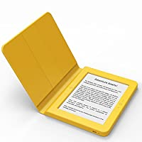 BOOKEEN Saga Yellow - Ereader E-Ink FrontLight 8GB with embedded silicone smartcover