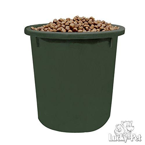 Futtertonne Futteraufbewahrung 37Liter Tierfutter Hund Katze Pferd (grün)