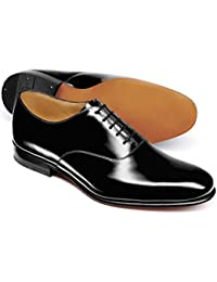 Black Patent Oxford Shoe by Charles Tyrwhitt