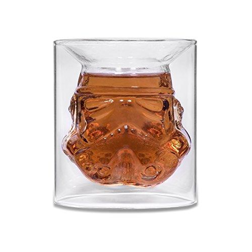 2 Stk. Stormtrooper Gläser 150 ml Alkohol Whisky Glas
