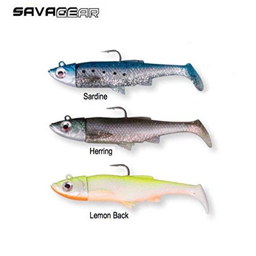 gummiköderfisch savage gear the 3d sardine gewehrform 50368