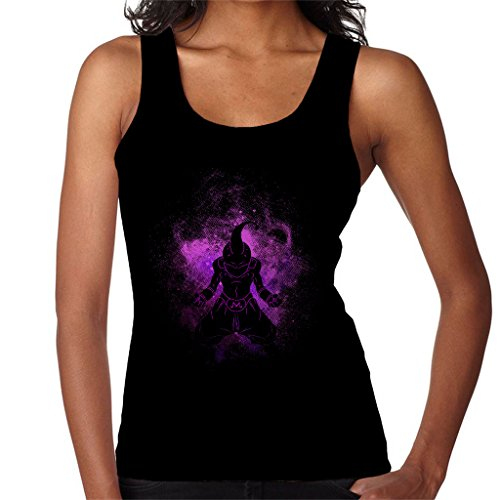 Dragonball Z Buu Silhouette Womens Vest Black