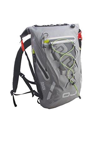 Imagen de  moto scooter oj m150dry pack, 100% impermeable, correas, acolchados correa de seguridad al pecho y vita, dimensiones 45cmx36cmx20cm, volumen color 20l