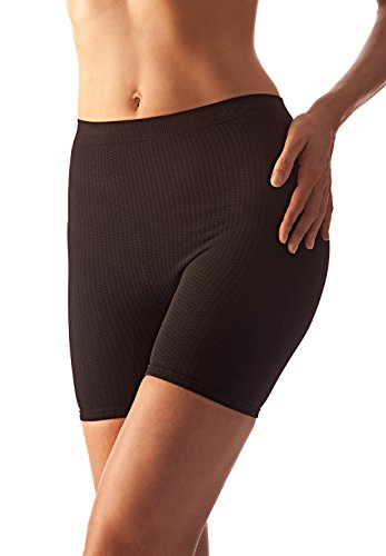 Farmacell 102 (nero, s/m) mini short massaggiante pantaloncino effetto anticellulite