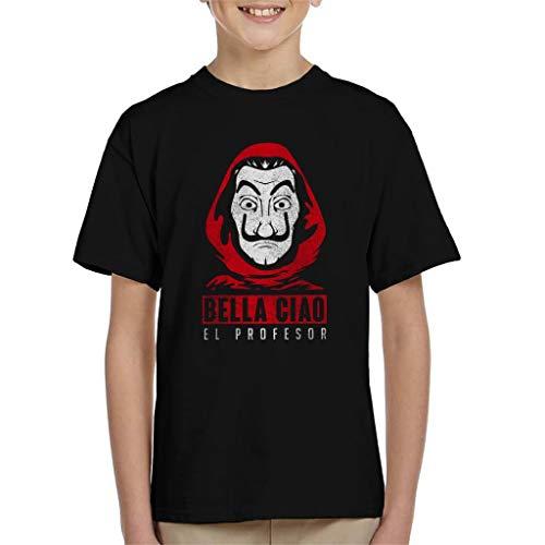 Bella Ciao El Profesor Casa De Papel Kid's T-Shirt