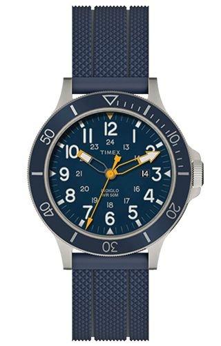 Montre Timex TW2R60700 Bleu Acier 316 L Homme