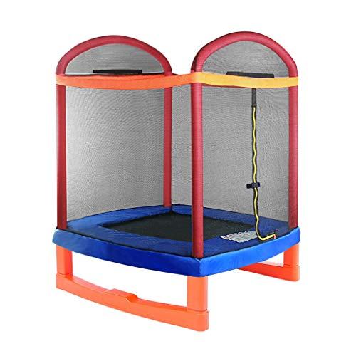 Sicherheitsnetz-Pullovertrampolin mit Schutznetz, Kinderheim-Innentrampolin, Outdoor-Bungee-Trampolin (Size : 6.5 feet)