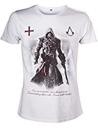 Assassin's Creed Rogue une fois un Assassin Men's T-Shirt (Grand)-Blanc
