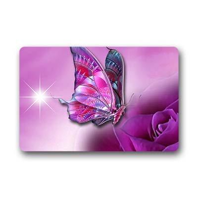 """Dalliy farfalla Zerbino Personalizzato Doormat 18""""x30"""" about 46cmx76cm"""