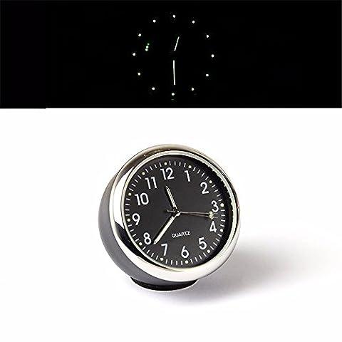Le tableau électronique du véhicule/nuit lumière réveil automobile/véhicule/Thermomètre Horloge de table d'Intérieur et de l'heure horloge électronique/Quartz/garniture automobile fournitures, veilleuse réveil