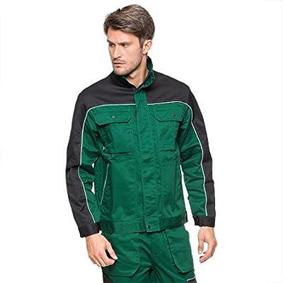 Arbeitsjacke grün 58 Sicherheitsjacke Schutzjacke Arbeitskleidung Berufsbekleidug