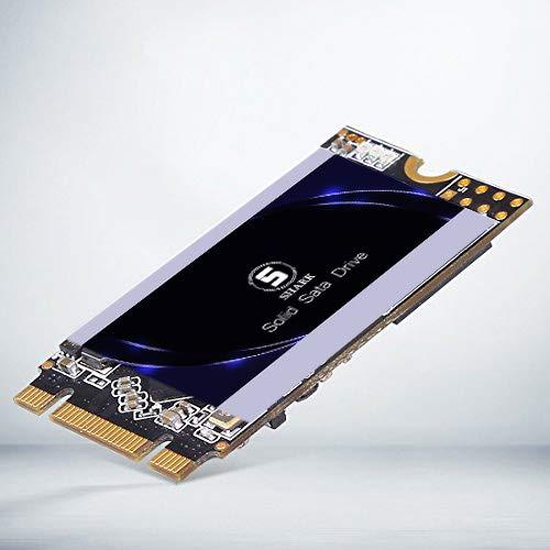 SSD Sata M.2 2242 500GB Shark Solid State Drive Ngff Interne Desktop - Computer 6Gb/s High - Performance - Festplatte Aus Bislang 60GB 120GB 240GB 250GB 480GB SSD (500GB, M.2 2242) -