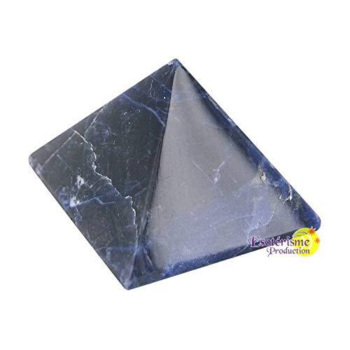 Pyramide Sodalite Bresil - Qualité Extra - 3 cm