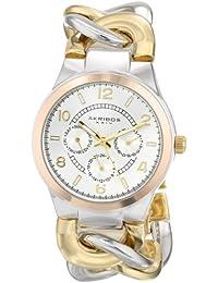 Akribos AK531TTR - Reloj de cuarzo para mujeres, bicolor